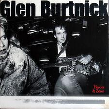 Glen Burtnick - Heroes & Zeroes CD 1987 A&M 80s AOR Rock Neal Schon Styx DADC