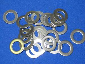 1/2 x .032 thin AN960L Flat Washer-Stainle<wbr/>ss 100 pcs, midget micro mini sprint