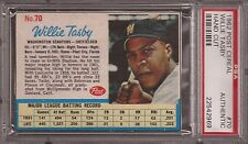 1962 Post Willie Tasby #70 Baseball Card