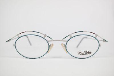 Adattabile Vintage Keywest Ol 3-8055-2 45 [] 14 135 Colorato Ovale Occhiali Montatura Nos- Rinvigorire Efficacemente La Salute