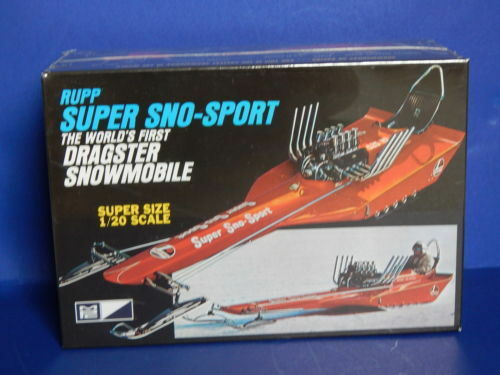 2008 MPC Rupp Super Sno-Sport Dragster Snowmobile 1 20 scale Model Kit new