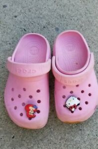 Hello Kitty Crocs Girls Shoes Pink Size
