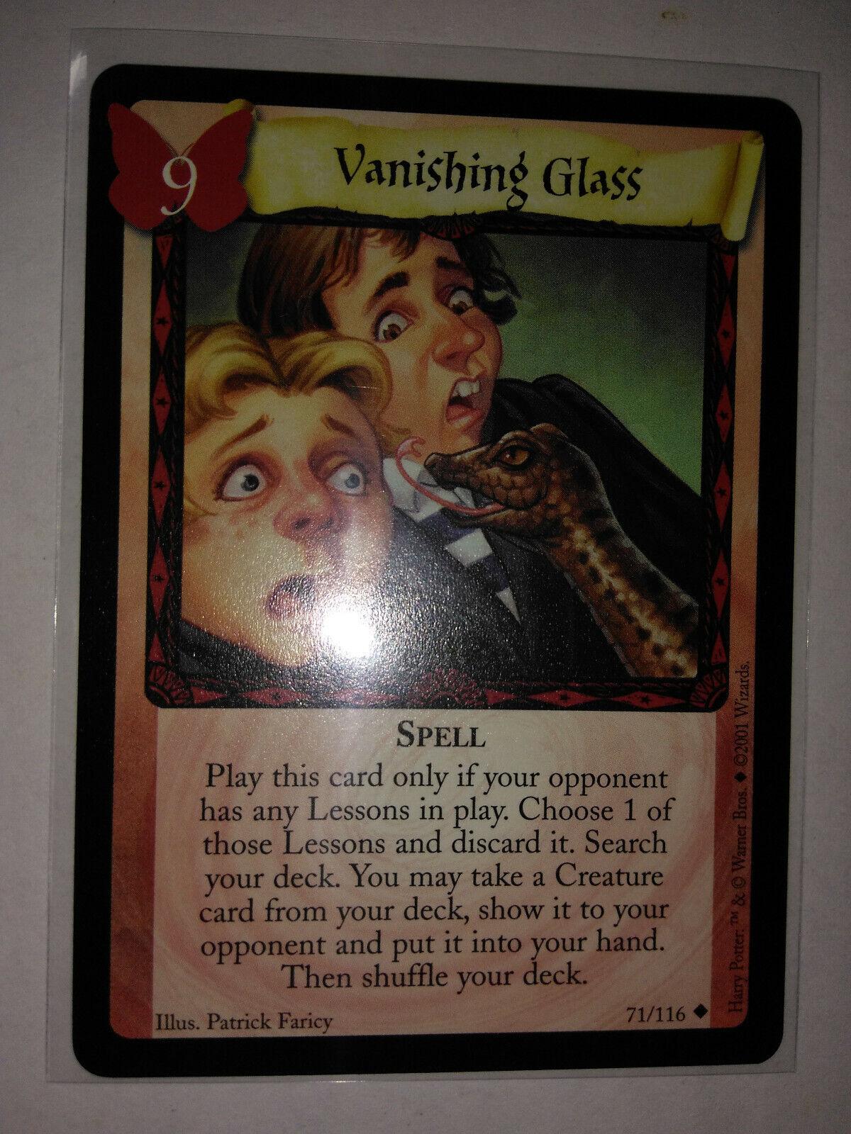 Harry Potter CCG Base Set Card 71//116 Vanishing Glass