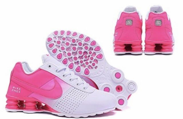 outlet store 001f4 5534f HOT NEW WOMENS Nike Shox Deliver Running Shoes Pink/White