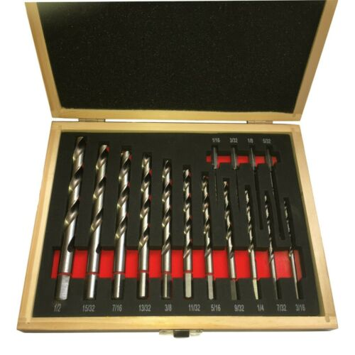 Spinifhex Safety Drill Bits HSS For Wood or Metal Imperial Positive Drive