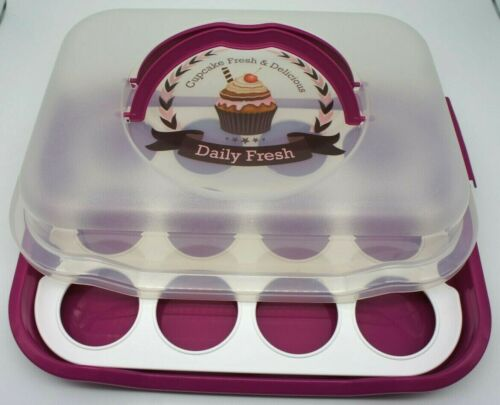 """GIES DecoLine Party Box /"""" Cupcake /"""" aus hochwertigem Kunststoff Butler"""