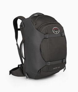 9ce3e35f5a Osprey Porter 46l Carry-on Ultralight Travel Backpack - Black for ...