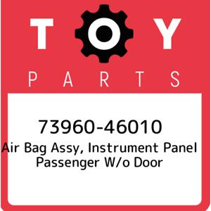 73960-46010-Toyota-Air-bag-assy-instrument-panel-passenger-w-o-door-7396046010
