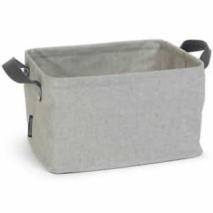 Brabantia-Foldable-Laundry-Basket-35L-Clothes-Bin-Compact-Space-Saving-Grey