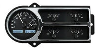 Dakota Digital 48 49 50 Ford Pickup Truck Dash Gauges Black White Vhx-48f-pu-k-w