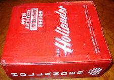 49th Hollander Parts Interchange Manual 1973 1974 1975 1976 77 78 79 80 Trans Am