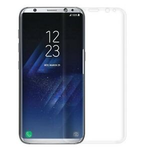 2x-Samsung-Galaxy-S8-Schutzglas-TRANSPARENT-Full-Cover-3D-4D-Schutzfolie-CURVED