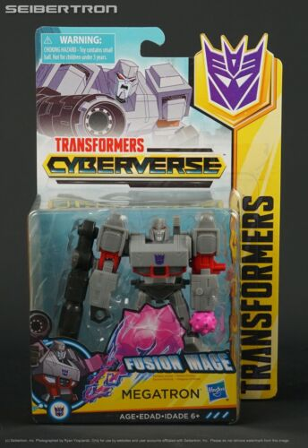 Warrior Class FUSION MACE MEGATRON Transformers Cyberverse Hasbro 2018 New