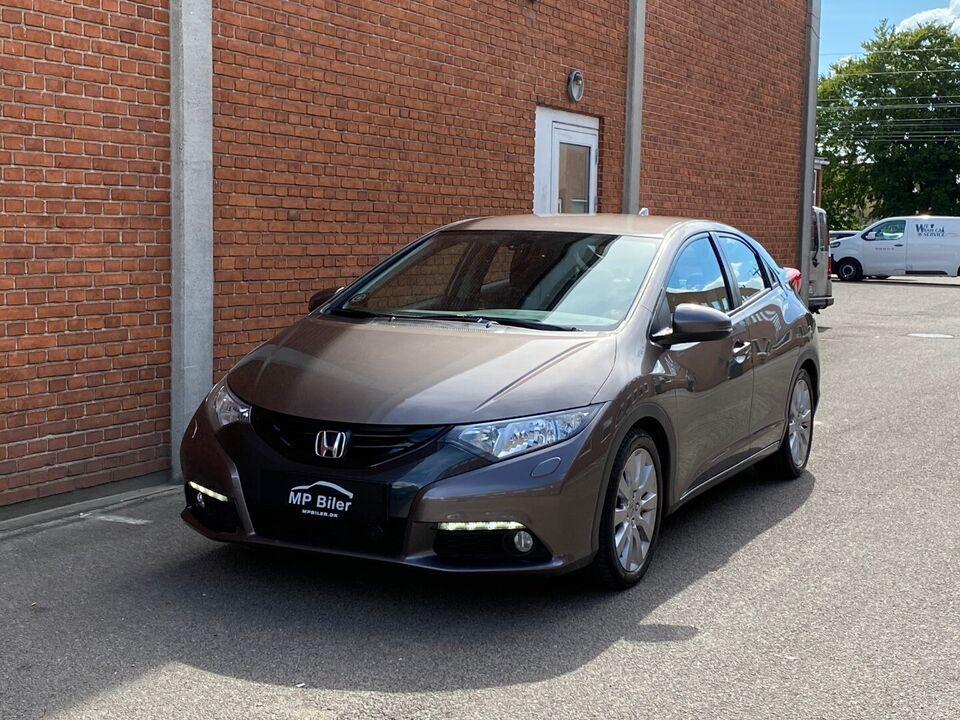 Honda Civic 1,6 i-DTEC Sport Diesel modelår 2014 km 186000