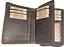 Indexbild 6 - Damen Geldbörse Naturleder Rustikal Rindleder RFID / NFC Geldbeutel Portmonai