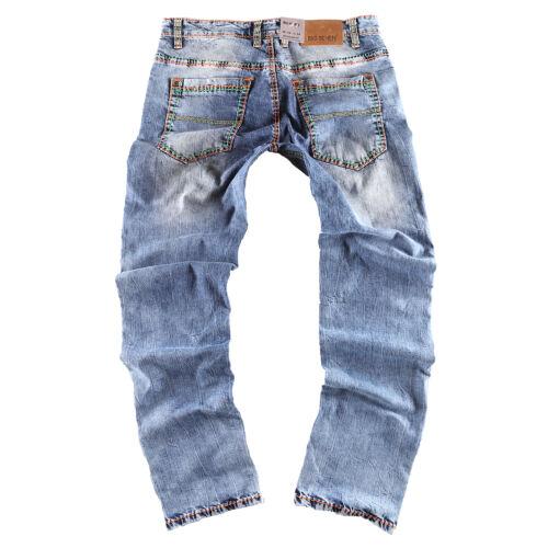 Jeans Seven Big Hommes Modèle Regular Straight Pantalon Fit Jay Pour P606qxwf