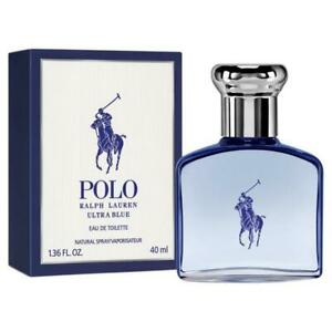 Polo Ultra Blue by Ralph Lauren 1.36 oz/40 ml Eau De Toilette Spray Sealed NIB