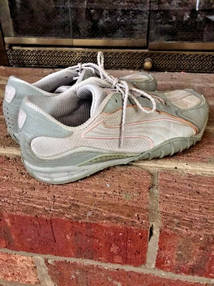 PUMA WOMENS Athletic Running Walking Used TENNIS SHOES SIZE 10 Used Walking 2dd2f9