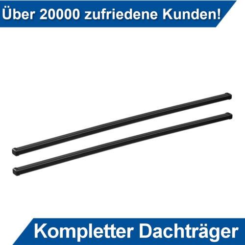 Für Nissan Pathfinder SUV 05-12 Stahl Dachträger Thule an Dachrelinge Kpl