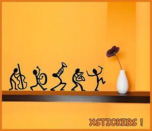 5-X-STICKERS-MUSICOS-VINILO-VINYL-WALL-ART-DECAL-AUFKLEBER-PEGATINAS