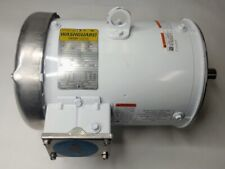 C184t34wc10a 5 Hp 3 Ph 3600 Rpm 208240v Leeson Washdown Duty Electric Motor