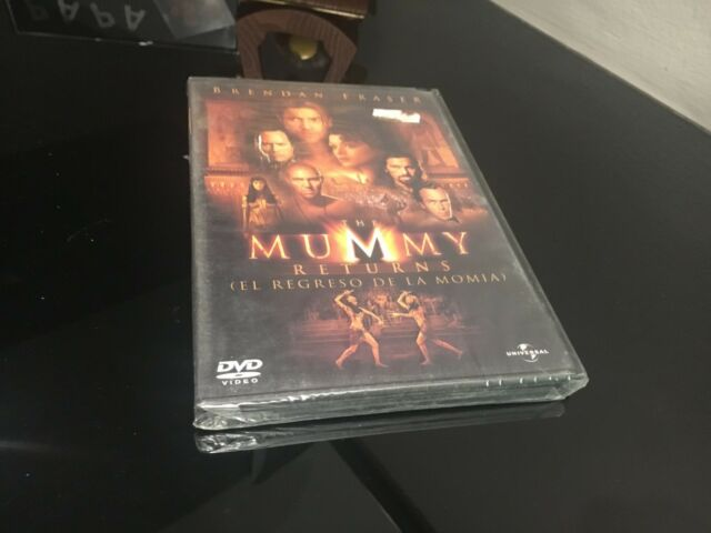 The Mummy Returns the Mummy DVD Brendan Fraser Sealed New