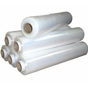 6-CLEAR-ROLLS-CLEAR-PALLET-STRETCH-SHRINK-WRAP-CAST-PARCEL-PACKING-CLING-FILM