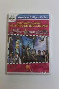 A Girl in the city - Hollywood - A Vampire Romance. 3 Juegos PC Idioma Frances.
