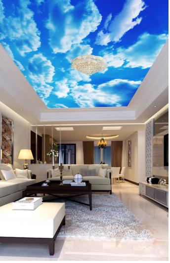 3D Bewölkter Himmel 7 Fototapeten Wandbild Fototapete Fototapete Fototapete BildTapete Familie DE Kyra | Flagship-Store  |  d4a210