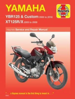 research.unir.net Haynes Workshop Manual Yamaha YBR125 & Custom ...