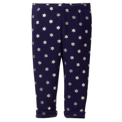 NWT Gymboree Warm and Fuzzy Navy Blue Star Leggings Toddler North star party