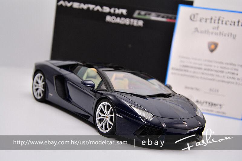 bilkonst 1 18 Lamborghini AVENDATOR LP700 -4 RODSTER