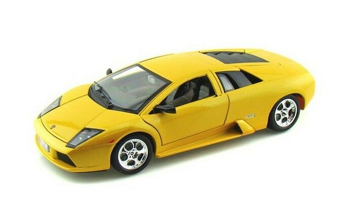 Lamborghini Murcielago Yellow Bburago gold Collection 3316 Diecast 1 18
