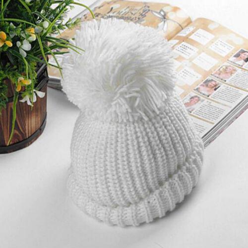 Men Women Knit Crochet Baggy Beanie Beret Winter Warm Ski Hat Slouchy Chic Cap