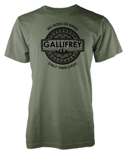 Gallifrey No Gods or Kings only Timelords  adult t-shirt