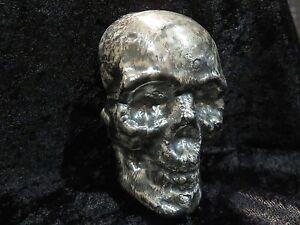 1 Kilo Mk Barz 32 151 Tr Oz Quot Skull Quot 999 Fine Silver