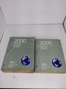 2000 FORD CONTOUR MERCURY MYSTIQUE 2 VOLUME FACTORY ...