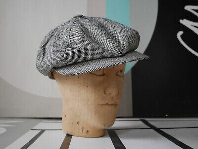 Rapimento Borsalino Saracinesca Berretto M 80er Made In Italy True Vintage 80s Flat Cap-mostra Il Titolo Originale