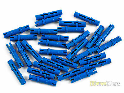 30x LEGO® Technic 6558 Verbinder Pins lang blau NEU blue 3L Friction Ridges