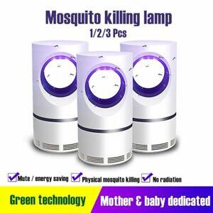 Electric Zapper Mosquito Killer Lamp 5V USB Fly Bug Pest Trap Killer LED Lamp❀❀❀