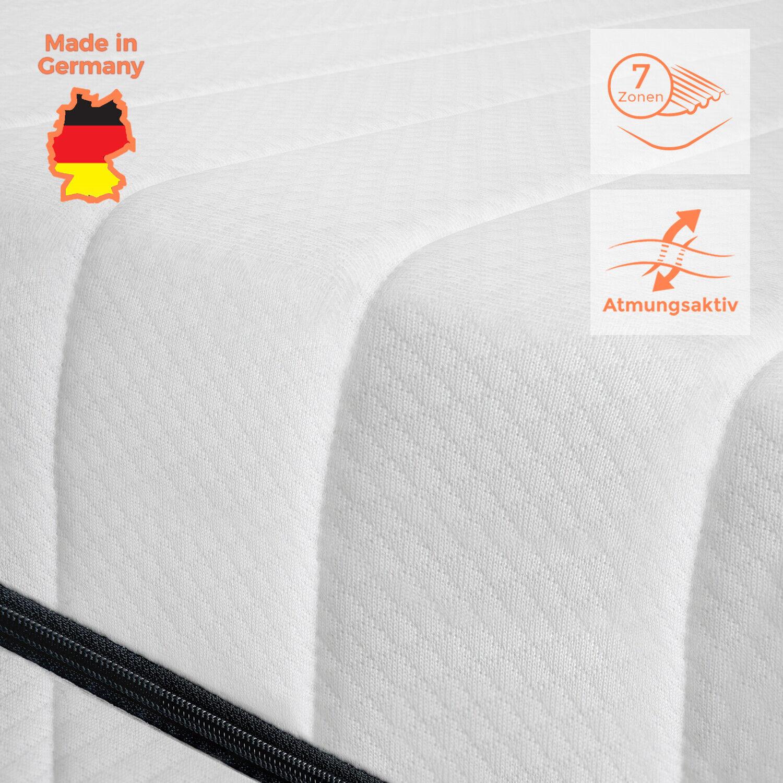 Premium orthopädische Matratze 7 Zonen Matratze 120x200 7 Zonen Matratze H3