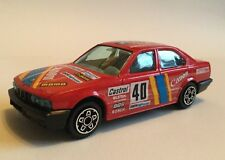 Burago BMW 535i Canon Rally Car 1/43 Scale Die Cast Model Toy