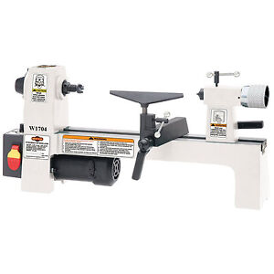 Shop-Fox-W1704-1-3-HP-110V-Variable-Speed-Bench-Top-Wood-Lathe