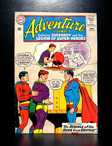 COMICS-DC-Adventure-Comics-320-1964-1st-Radiation-Roy-app-batman-flash