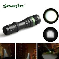 Ultrafire 6000LM Zoomable LED XM-L T6 LED Flashlight 18650 Torch Bright Light
