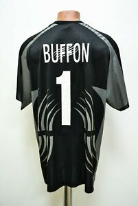 new arrival 8d832 ec87a Details about JUVENTUS ITALY 2001/2002 GOALKEEPER FOOTBALL SHIRT JERSEY  LOTTO #1 BUFFON SIZE L