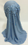 Muslim Fashion Girls Hijab Bandanas Flower Scarf Turban Islamic Soft Shawl Caps