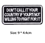 miniature 10 - Biker Patches Embroidered Iron on Sew on Word Slogans Patch Transfer Motorcycle
