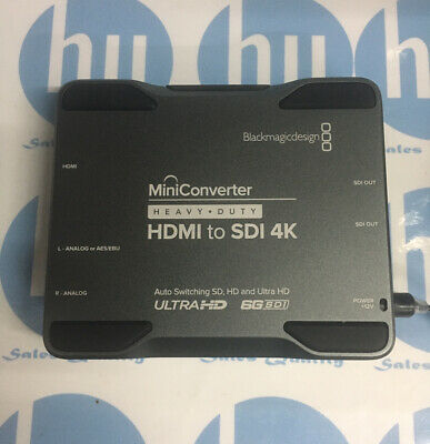 Mini Converter Heavy Duty Hdmi To Sdi 4k Blackmagic Ebay