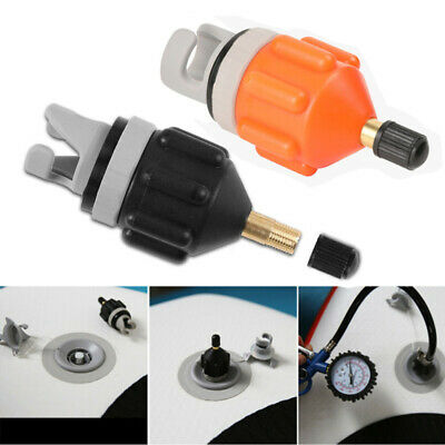 Rowing Boat Air Valve Adaptor Kayak Inflatable Pump Adapter for SUP Board